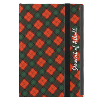Stewart of Atholl Scottish Kilt Tartan iPad Mini Cover