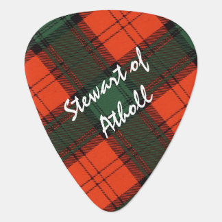 Stewart of Atholl Scottish Kilt Tartan Plectrum