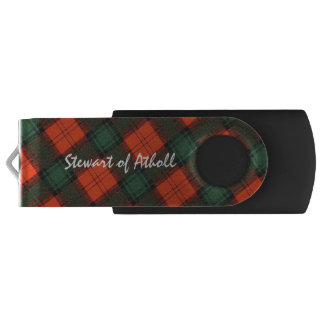 Stewart of Atholl Scottish Kilt Tartan USB Flash Drive