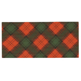 Stewart of Atholl Scottish Kilt Tartan Wood USB Flash Drive