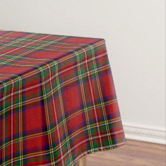 Stewart Royal Tartan Large Plaid Scottish Clan Tablecloth
