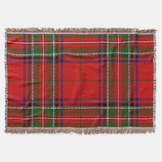 Stewart Tartan Blanket