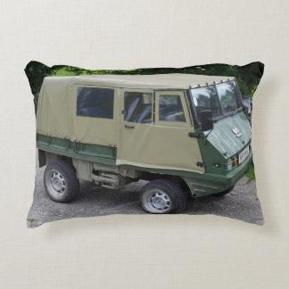 Steyr Puch Haflinger Accent Cushion