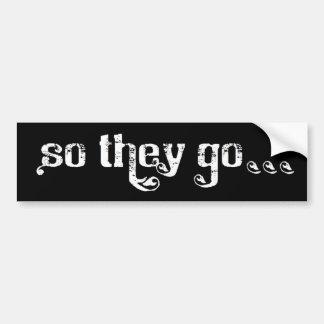 STG Roll Bumper Sticker