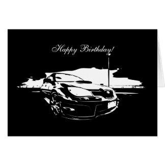 STI Drifting Birthday Cards