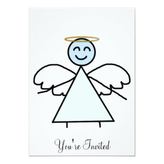 Stick Angel Card