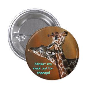 stick changw 3 cm round badge