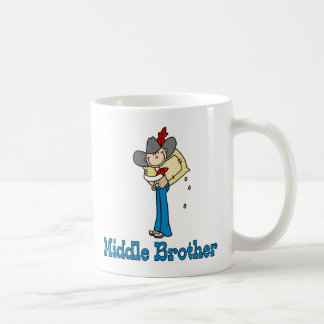 Stick Cowboy Middle Brother Mugs