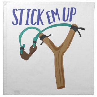 Stick Em Up Napkin