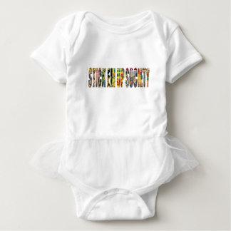 STICK EM UP SOCIETY SKATE COMPANY BABY BODYSUIT