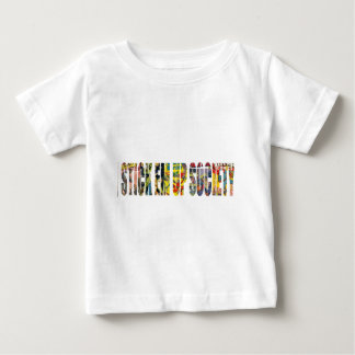 STICK EM UP SOCIETY SKATE COMPANY BABY T-Shirt