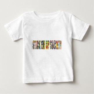 STICK EM UP SOCIETY SKATE COMPANY BABY T-Shirt