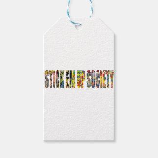 STICK EM UP SOCIETY SKATE COMPANY GIFT TAGS