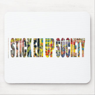 STICK EM UP SOCIETY SKATE COMPANY MOUSE PAD