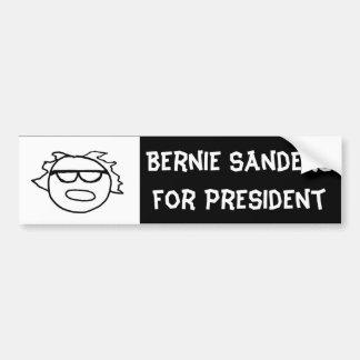 Stick-Figure Bernie Bumper Sticker
