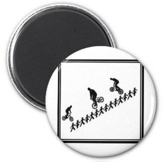 Stick FIGURE BMX Magnet