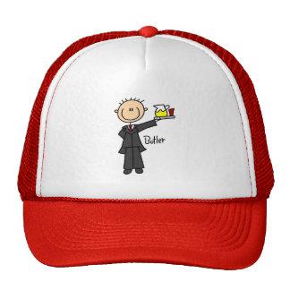Stick Figure Butler Hat