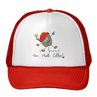 Stick Figure Coffee Bean Baseball Cap Mesh Hats