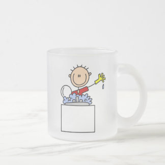 Stick Figure Doing Dishes Coffee Mugs
