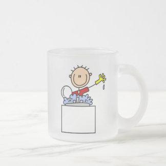 Stick Figure Doing Dishes Coffee Mugs