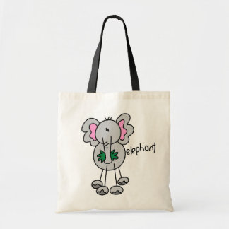 Stick Figure Elephant Tshirts and Gifts Bags