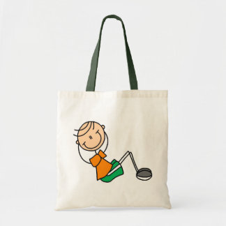 Stick Figure Exercising T-shirts and Gifts Tote Bag