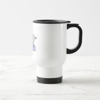 Stick Figure Hippo T-shirts and Gifts Coffee Mugs