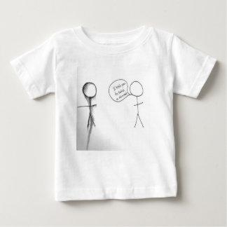 Stick Figure Humor Design Baby T-Shirt