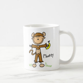 Stick Figure In Monkey Suit Mug