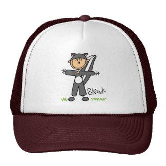 Stick Figure In Skunk Suit Hat