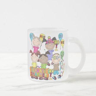 Stick Figure Kids 100 Days Smarter Coffee Mug