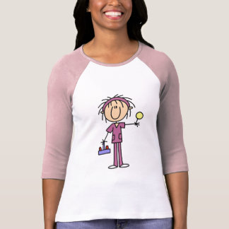 Stick Figure Nurse With Lollipop Tshirts and Gifts