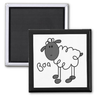 Stick Figure Sheep Tshirts and Gifts Magnet