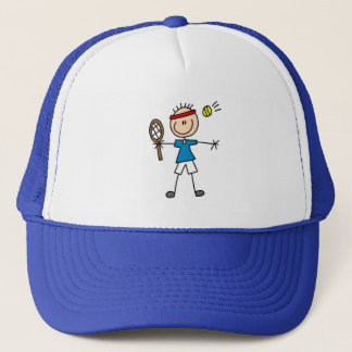 Stick Figure Tennis Hat