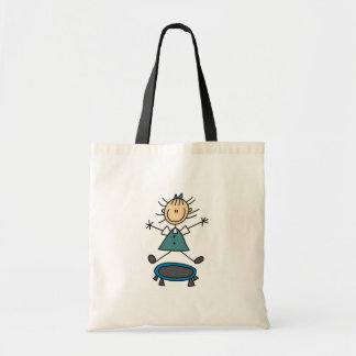 Stick Figure Trampoline Bag