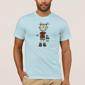 Stick Figures Camping Shirt