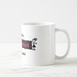 Stick Figures Resisterhood Nevertheless She Persis Coffee Mug
