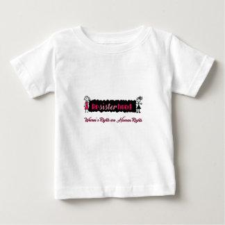 Stick Figures Resisterhood Womens Rights Baby T-Shirt