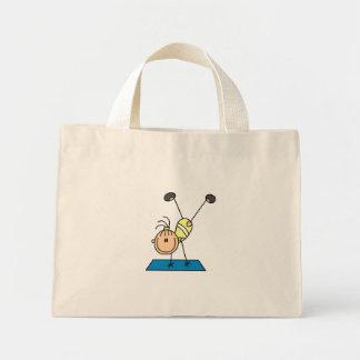 Stick Girl Gymnast Doing Flips Bags