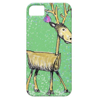 Stick Holiday Deer iPhone 5 Cover