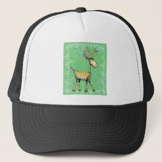 Stick Holiday Deer Trucker Hat