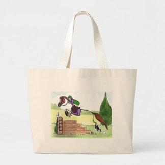 STICK HORSE XC Eventer Chestnut Canvas Bags