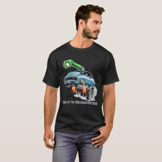 Stick It To The Competition! Blue Hot Rod T-Shirt