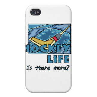 Stick on Ice Hockey is There More  iPhone 4 Cases
