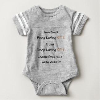 Stick or Geocache Baby Bodysuit