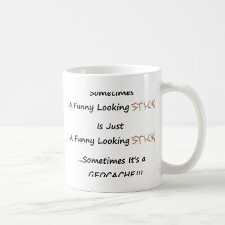 Stick or Geocache Coffee Mug