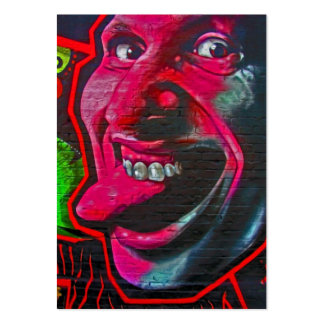 Stick Out Tongue, East Side Gallery, Berlin Wall-1 Business Card Templates