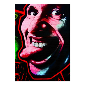 Stick Out Tongue, East Side Gallery, Berlin Wall-2 Pack Of Chubby Business Cards