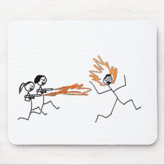Stick Rage Mouse Pad