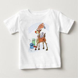 Stick reindeer baby T-Shirt
